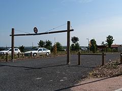 Car-share parking area